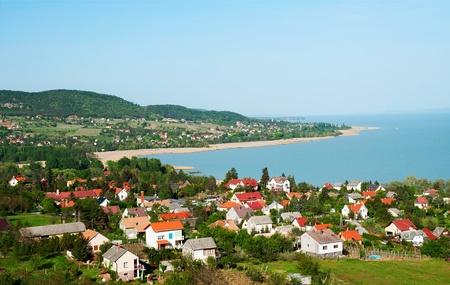 Little village at Lake Balaton, Hungary