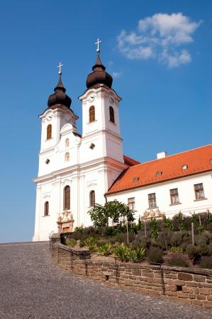 benedictine: Abad�a benedictina en Tihany, Hungr�a