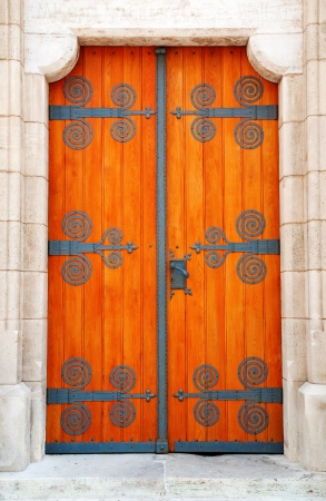 Decorative door photo