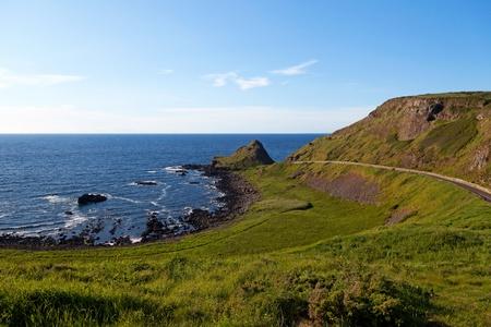 Irish coast at the Atlantic Ocean