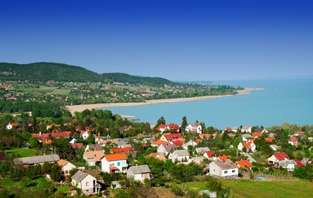 Little village at Lake Balaton,Hungary