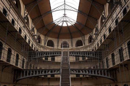Kilmainham Gaol with Prison Cells in Dublin, Ireland