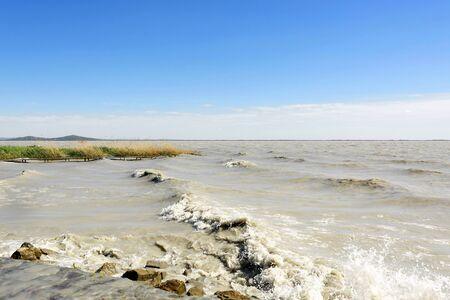 balaton: Stormy Lake Balaton , Hungary