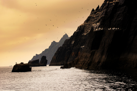 Skellig Michael, UNESCO World Heritage Site, Kerry, Ireland. Wild Atlanic way