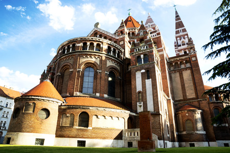 szeged: Cathedral of Szeged,Hungary