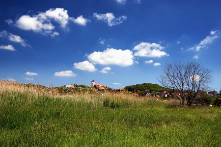 benedict: Landscape of Tihany at Lake Balaton, Hungary