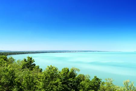 Landscape of Lake Balaton, Hungary (Balatonvilagos)