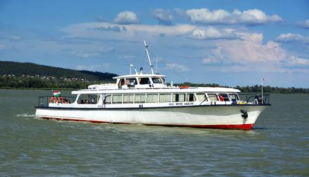 Arach passenger ship on Lake Balaton in July 2017, Hungary