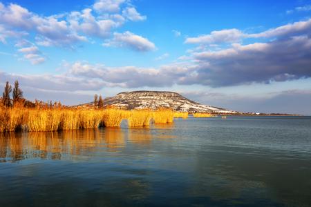Landscape of Lake Balaton, Hungary