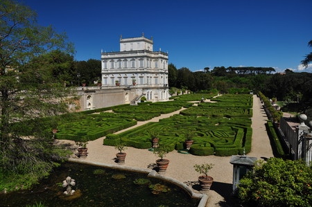 Villa Doria Pamphili, Rome Stock Photo