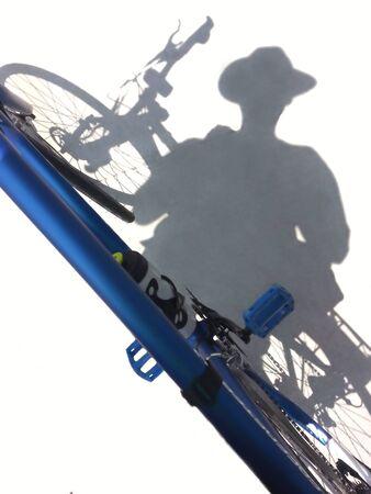 shadow: Shadow rider Stock Photo
