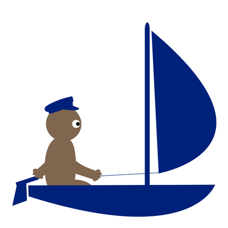 stay at the course: Kippy sailing
