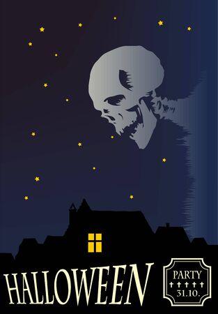 Illustration of Halloween Vector