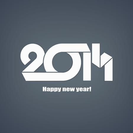 Happy new year 2013 celebration greeting card design Illustration