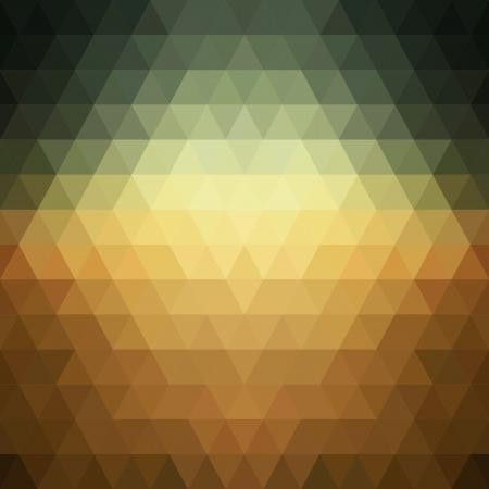 三角形の幾何学形状パターン。
