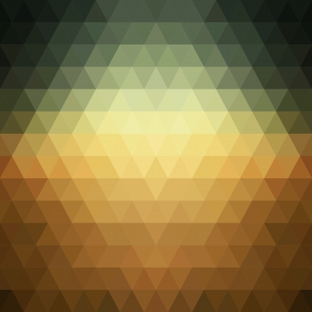 Pattern of geometric shapes of triangles.
