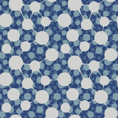 Seamless bulk molecular structure