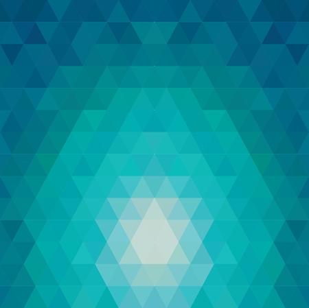 Motif de formes géométriques. Débit de l'effet de spectre. Illustration