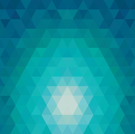 Pattern of geometric shapes. Flow of spectrum effect. Vector