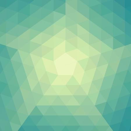 Üçgenler ile sorunsuz geometrik desen.