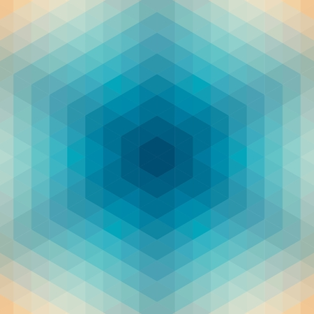 Seamless geometric pattern with triangles. Vector