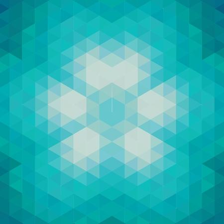 Üçgenler ile Seamless geometrik desen. Illustration