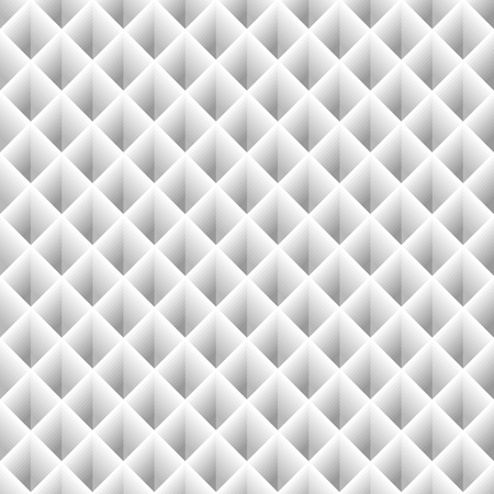 Seamless texture white squares Illustration