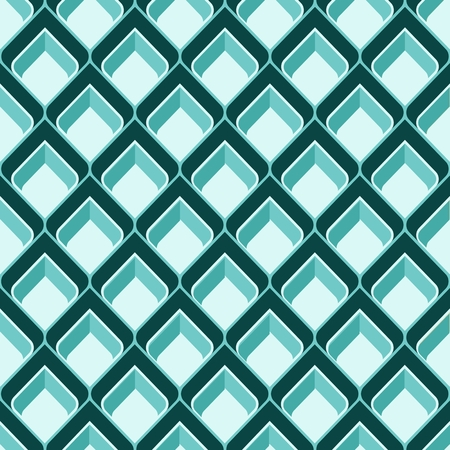vintage weaving: Abstract boxes. Retro seamless pattern. Background Illustration