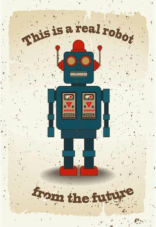 Cartoon Robot Stock Vector - 27081091