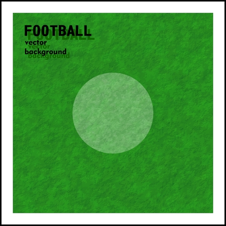 football (soccer) vector background, a penalty marker point Vector