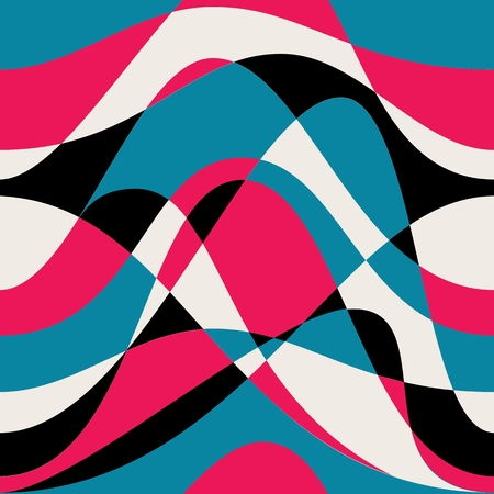 waves pattern: Seamless abstract waves pattern.