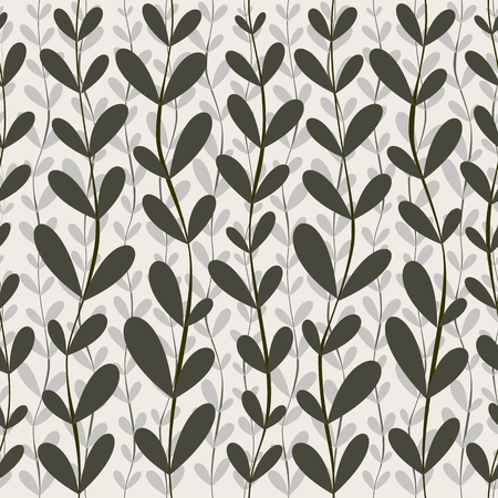 seamless pattern floral: vector seamless pattern. floral stylish background Illustration