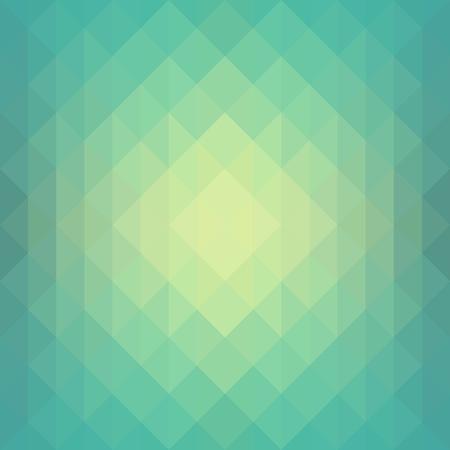 テクスチャー: シームレスな緑の抽象的な幾何学的な背景