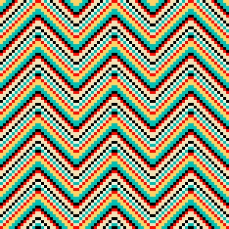 kilim: Colorful abstract ethnic geometric pattern, vector