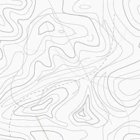 Seamless lumière topo topographique contour fond de carte