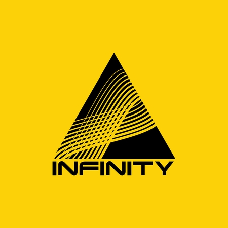 tripple: Abstract infinity logo design template. Infinite shape.