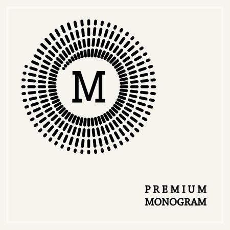 background swirl: Stylish  graceful monogram , Elegant line art icon design in Art Nouveau style