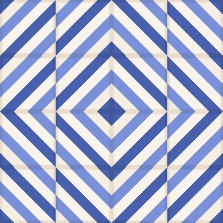 blue stripe: Gorgeous seamless  pattern from  Moroccan tiles, ornaments of blue stripes. Can be used for wallpaper, pattern fills, web page background,surface textures.