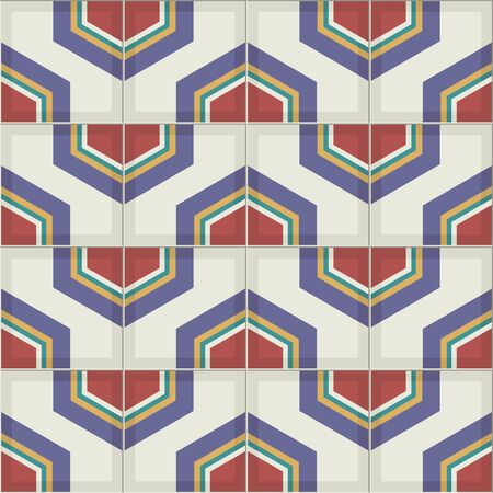 iznik: Gorgeous seamless  pattern from colorful Moroccan tiles, ornaments. Can be used for wallpaper, pattern fills, web page background,surface textures.