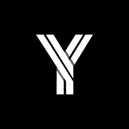 Capital letter Y.