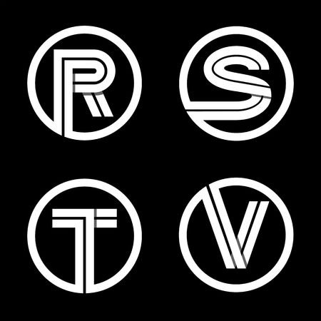 s stylish  Capital letters R  S  T  V. S Stylish Images   Stock Pictures  Royalty Free S Stylish Photos