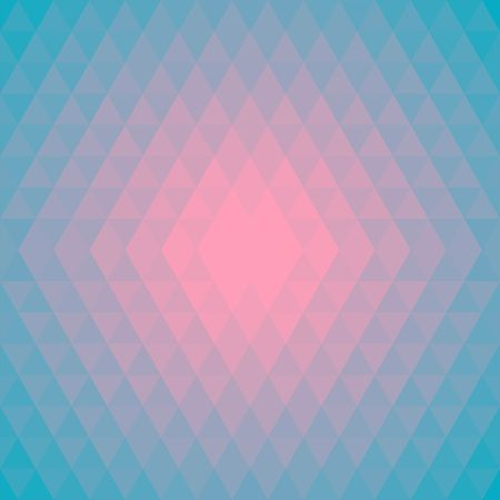 pink sky: Stylish Pattern, Background made of Triangles in trendy Colors Pink, Sky Blue. Can be used for wallpaper, pattern fills, web page background,surface textures. Illustration