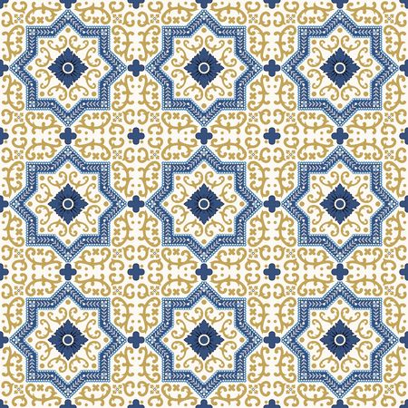Vektor nahtlose Muster. Bunte ethnische Verzierung. Arabesque Stil. Islamische Kunst.