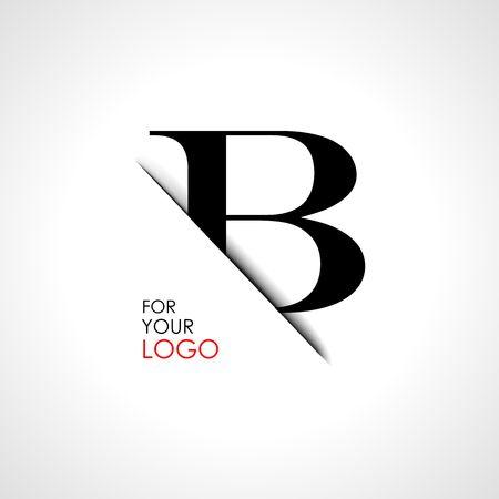 Une lettre majuscule est insérée dans la fente pour papier. Créer des logos, des emblèmes, des monogrammes.