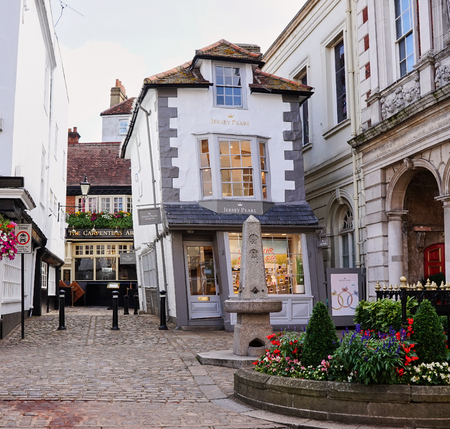 The Crooked House Exterior - Windsor, England - Aug 2017