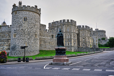 Empty Streets at the Castle at Windsor, England - Aug 2017