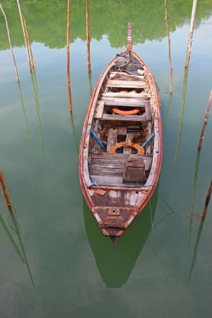 Coastal fishing boat photo