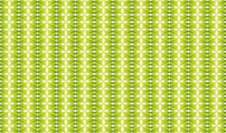 Green leaves pattern photo
