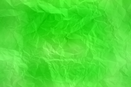 creasy: green crumpled paper