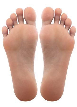 Close up of female feet Stockfoto